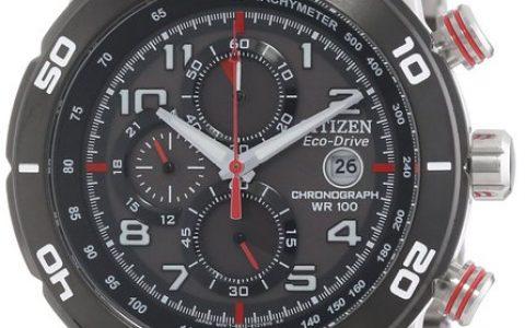 男士手表推荐 Citizen西铁城 光动能 男士手表 CA0468-51E 不用换电池的手表