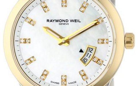 海淘女表推荐:Raymond Weil雷蒙威5670-STP-97091 女式双色珍珠女士手表
