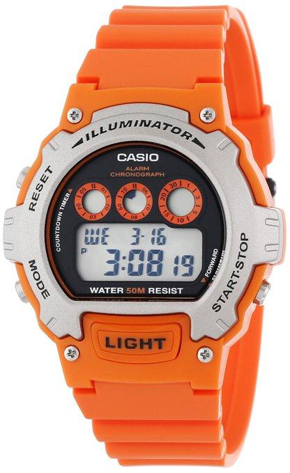 男士手表推荐:Casio卡西欧W214H-4AV_DE男款腕表