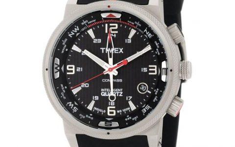 引领时尚潮流的石英表 Timex天美时 男式石英表