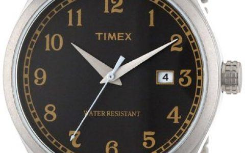 海淘男表推荐:Timex天美时 不锈钢表带 时尚男款手表