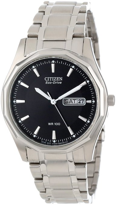 男士运动手表推荐,终身无需更换电池的手表 Citizen西铁城BDBM8430-59E