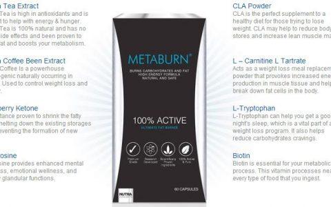 MetaBurn最值得入手的英国减肥药