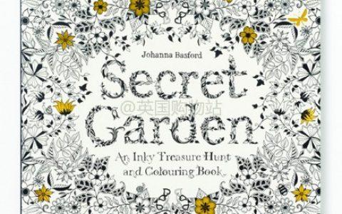《秘密花园》绘本半价啦!全球直邮,包括中国!