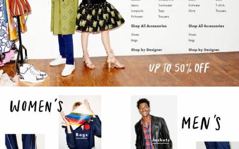 伦敦老牌奢品店Browns官网开始Summer Sale啦,全球直邮,包括中国