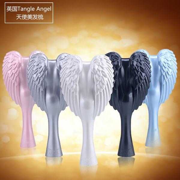 【Tangle Angel防脱顺发天使梳】两家狠折!满40镑全球免邮,包括中国,可用支付宝,可写中文地址~!!