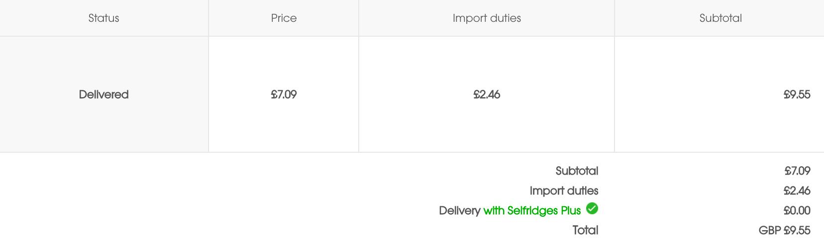 达人君之前为了测试下了一单只有9镑的东西,也是超快的DHL送达(有点不好意思哈哈)