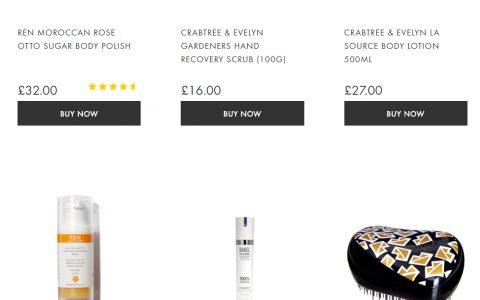 Beauty Expert 折扣汇总,网站满40镑全球免邮,支持支付宝+中文地址!