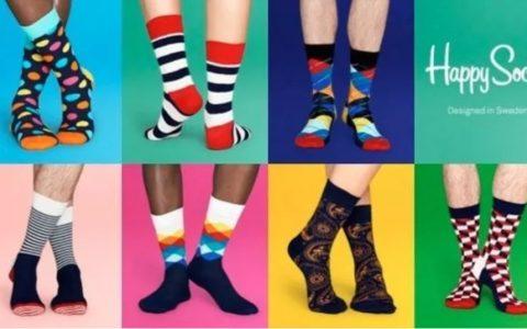 Happy Socks时尚彩袜新年特惠!