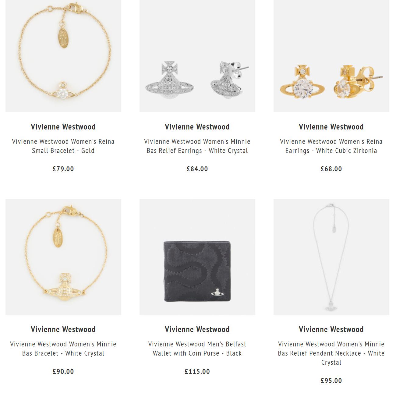 Vivienne Westwood75折咯,含王俊凯同款土星项链