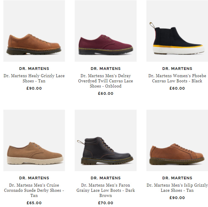 Dr. Martens马丁靴全线25% OFF,杨幂同款也在!