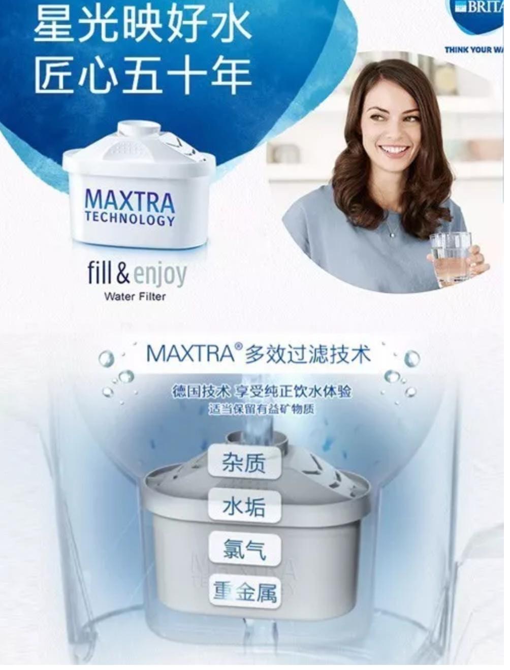Brita过滤水壶全线Up to 40% OFF,12枚滤芯套装仅37.49磅