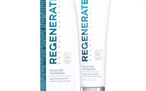 Regenerate高科技修复牙膏全线25% OFF!
