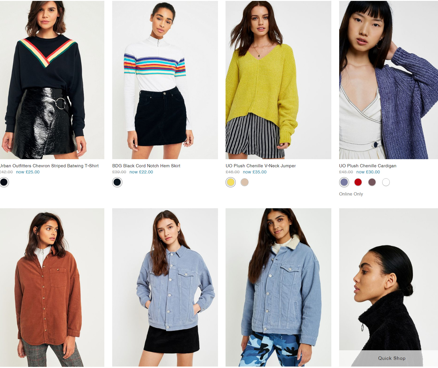 Urban Outfitters官网折扣 Sale Up to 50% OFF!