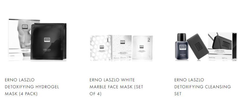 奥伦纳素Erno Laszlo全线8折!含水疗冰白面膜、水柔豆腐霜