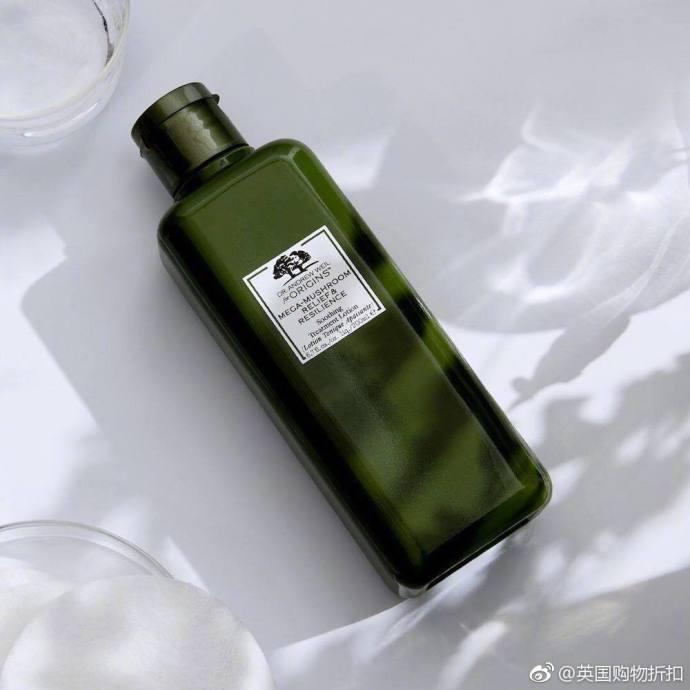 Origins悦木之源限时解禁!!!新版菌菇水两瓶415元免邮中国!