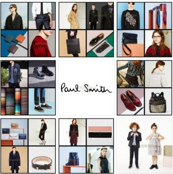 Paul Smith官网夏季Sale全面启动,全球直邮,包括中国