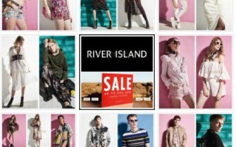 River Island官网夏季Sale Up to 50% OFF,全球直邮,包括中国~!