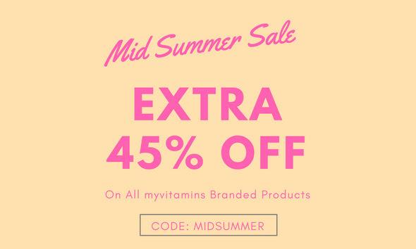 Myvitamins 保健品年中大促 Summer Sale