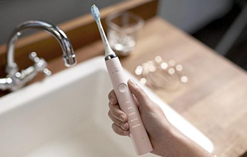 飞利浦钻石亮白三代电动牙刷,粉、黑、银色762元到手!