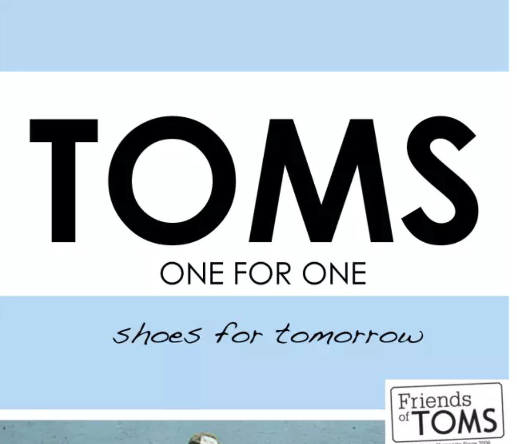 全球明星大爱休闲鞋TOMS全线低至3折+额外85折