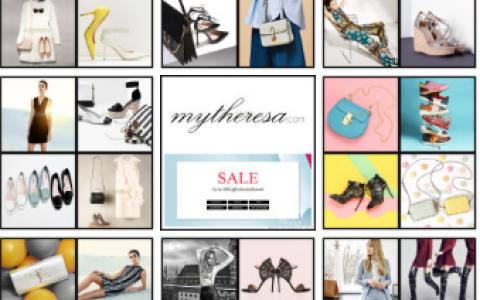 奢品名站mytheresa夏季Sale五折起,同时鞋子还有额外8折,全球直邮,包括中国!