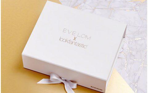 lookfantastic x EVE LOM限量版美妆礼盒,疯抢呀,价值超过174镑,只售70镑,全球免邮,包括中国,可用支付宝 + 中文地址