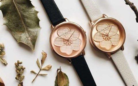 Olivia Burton英伦复古手表闪促,前50顾客抽1名免单