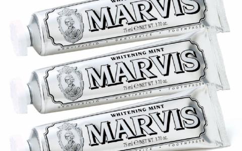Marvis美白薄荷牙膏三件套75折疯囤!