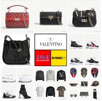 Selfridges官网夏季Sale,Valentino包包鞋子卫衣配饰等高至60% OFF