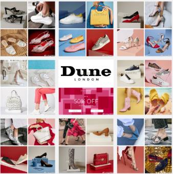 Dune美鞋夏季Sale,Up to 50% OFF!