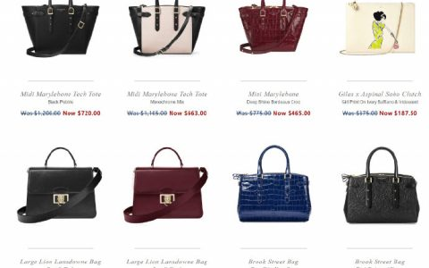 英国奢华皮具品牌Aspinal of London官网2019 Summer Sale