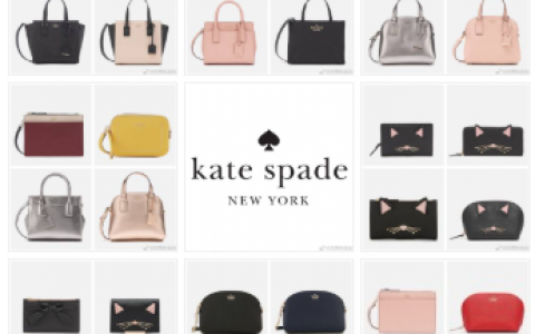 Kate Spade 30% OFF + 30% OFF折上折