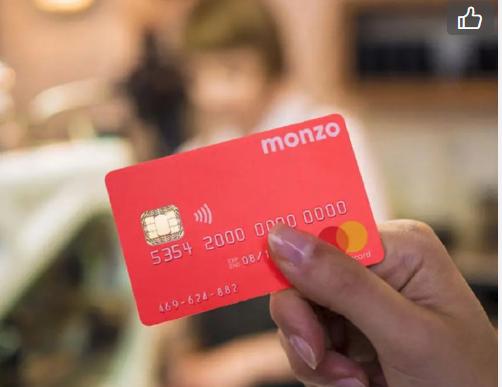 Monzo银行卡申请:给在英国留学/生活的小伙伴们推荐个好用的银行卡Monzo!