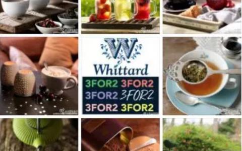 英国百年茶饮名店Whittard买三免一