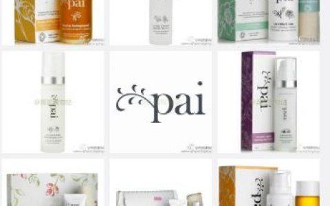 英国著名纯天然有机护肤品牌Pai全线30% OFF