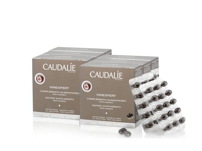 Caudalie口服葡萄籽两件装75折 + 重磅礼品