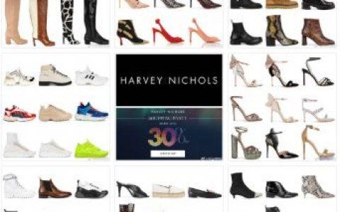 Harvey Nichols 大牌鞋子7折