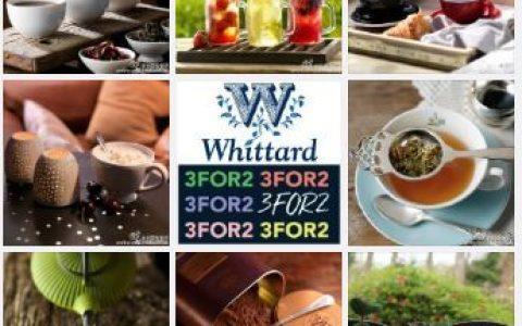 Whittard官网全场满30镑15% OFF
