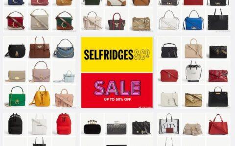 Selfridges圣诞Sale包包5折