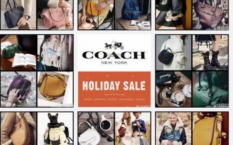 Coach圣诞40% - 50% OFF