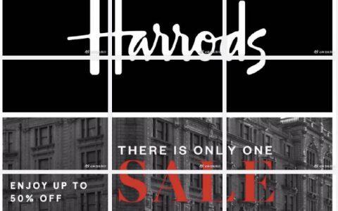 Harrods圣诞Sale全面开挂