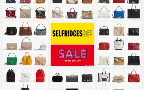 Selfridges大牌包包钱包30% - 50% OFF