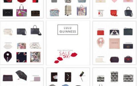 Lulu Guinness美包线上低至4折+额外9折