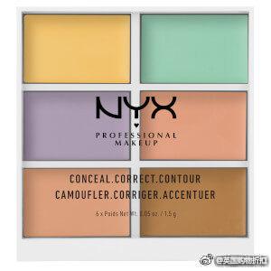 NYX全线8折,眼影盘\定妆喷雾色遮瑕盘等明星产品光速收