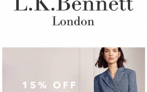 英国一线时装品牌 L.K.Bennett官网怎么样?现在全场85折