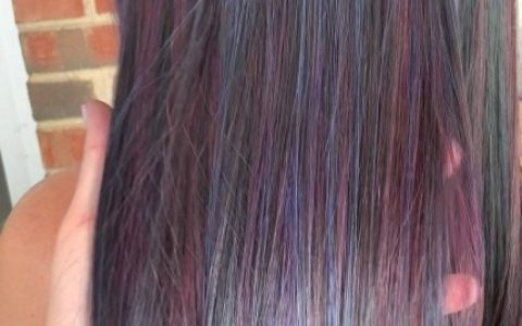 37 Pretty Oil Slick Hair Ideas That Can Make You Look More Beauty
