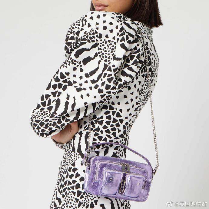 Nunoo电光紫独家款Helena包包